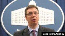 Potpredsednik Vlade Srbije Aleksandar Vučić