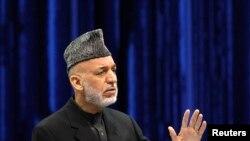Prezida wa Afghanistani, Hamid Karzai