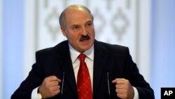 الکساندر لوکاشینکو، رییس جمهور بلاروس