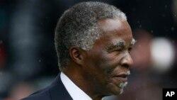 Owayengumongameli wakwele South Africa, uMnu. Thabo Mbeki.