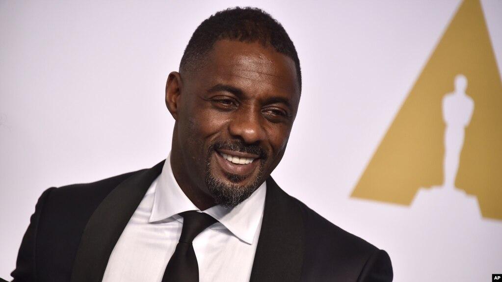 El actor Idris Elba durante la 87 entrega de los Premios Oscar. Teatro Dolby, Los Angeles, 22-2-2015.