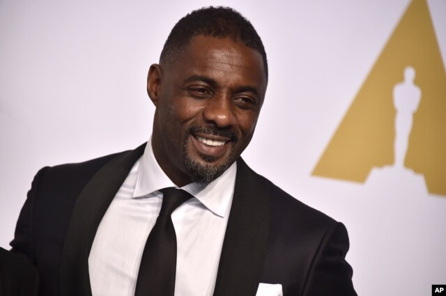 FILE - Actor Idris Elba. The Africa-war drama Beasts of No Nation was expected to bring an Oscar nod for actor Idris Elba, but did not.