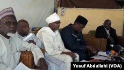 Shugabannin hadakar kungiyar farar hula a jamhuriyar Niger