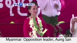 """VOA60 World - Aung San Suu Kyi says she will be """"making the decisions as leader of the winning party"""""""