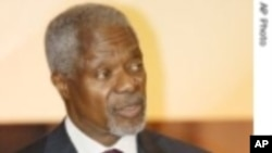 Kofi Annan to Meet Kenyan Leaders Monday