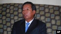 Defense Minister Tea Banh.