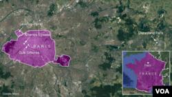 Armancên bergumanên girtî li Parîsê