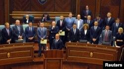 Izbor Vlade Kosova u parlamentu