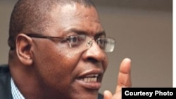 Movement for Democratic Change leader Professor Welshman Ncube