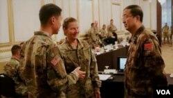 美中陸軍2017年11月14日舉行人道救援年度交流 (美國陸軍太平洋部隊照片)