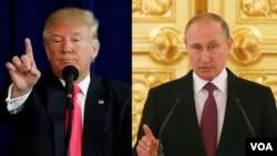 Donald Tramp- Vladimir Putin