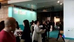 2016-03-26 美國之音視頻新聞: 香港巴塞爾藝術展成為城中焦點