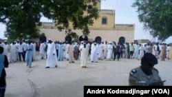 Vue de la devanture du palais royal de Dar-Ouaddaï N'Djamena, le 19 août 2019. (VOA Afrique/André Kodmadjingar).