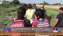 Amerikaning janubiy chegaralarida daydi bolalar ko'p - US Immigration Texas