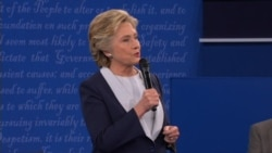 Clinton: It's a good thing you're not in charge of the law in this country
