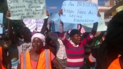 Report On Protesters Filed By Taurai Shava