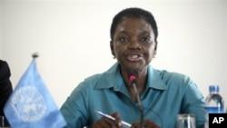 U.N. Under Secretary General for Humanitarian Affairs Valerie Amos