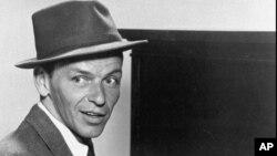 FILE- 1957 publicity portrait of singer Frank Sinatra.