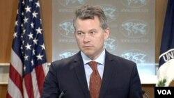 美国国务院新闻办公室主任 杰夫•拉特克 (视频截图)