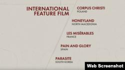 """Spisak kandidata za najbolji strani film među kojima je i makedonska """"Zemlja meda"""""""