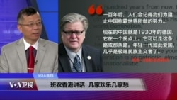 VOA连线(海涛):班农香港讲话,几家欢乐几家愁