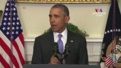 ԱՄՆ-ի նախագահի հայտարարությունն` Իրանի մասին