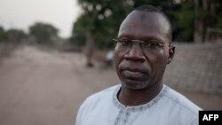 Noureddine Adam, le chef du FPRC, en Centrafrique, à Birao, le 20 décembre 2017.