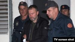 Privođenje osumnjičenih za pokušaj državnog udara u Crnoj Gori (17. oktobar 2016)