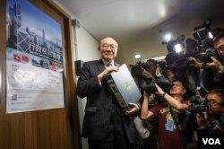 香港特首參選人胡國興。(胡國興社交網站圖片)