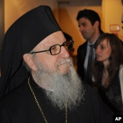 Ο Σεβασμιότατος Αρχιεπίσκοπος κ. Δημήτριος