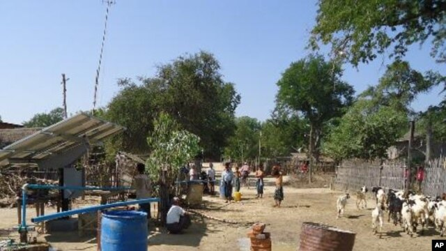Solar Pumping in Seikphyu Magway Region