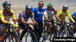 اعضای تیم ملی پسران بایسکل ران افغانستان
