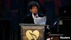 Bob Dylan fue galardonado con el premio Nobel de Literatura 2016.