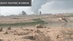 Heavy Fighting Rages Near Kirkuk