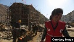 국제적십자사 IFRC가 최근 웹사이트에 함경북도 무산군의 수해 피해 현장 사진을 공개했다.