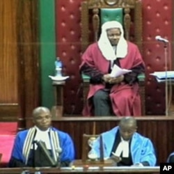 Kenya's parliament in session (file photo)