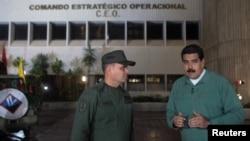 صدر مادورو جنرل پادرینو سے بات کر رہے ہیں۔