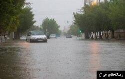 بارشهای سیل آسا در ایران