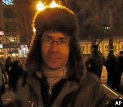 反普京示威人士,历史学家菲德尔