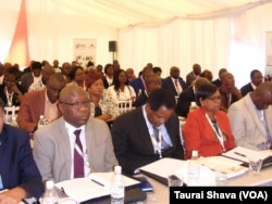 Some of the people who attended the ZITF Business Conference.