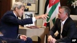 Američki državni sekretar tokom današnjeg razgovora sa jordanskim kraljem Abdulahom u Amanu