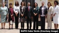 O Governo da VIII legislatura de Cabo Verde é composto por 8 ministras