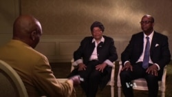 Liberia's President Discusses US Trip with VOA