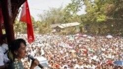 آغاز مبارزات انتخاباتی آنگ سان سو چی در برمه