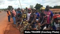 Pour les Guinéens, le cyclisme est loin d'être un sport populaire comme le football