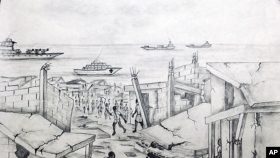 Haitian Earthquake Victim S Sketches Show Disaster Relief