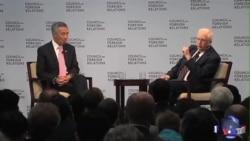新加坡总理李显龙论中国