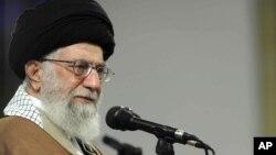 رهبر ایران، نارامی های سه ماه پیش در ایران را به دشمنان ایران نسبت داده است