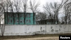 IK-3 penal colony, which houses a hospital where jailed Kremlin critic Alexei Navalny was reportedly transferred, in Vladimir, Russia April 19, 2021.