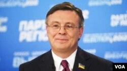 ATƏT sədri, Ukraynanın xarici işlər nairi Leonid Kojara